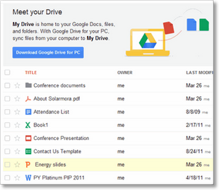 Google Drive Files - TechBuzzes