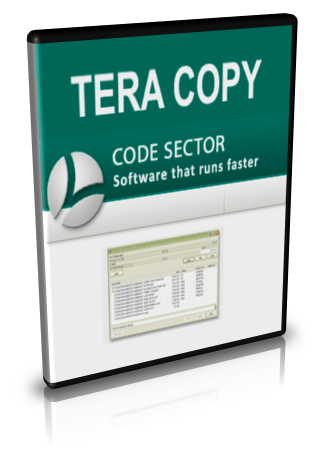 TeraCopy,Code Sector, copy and move