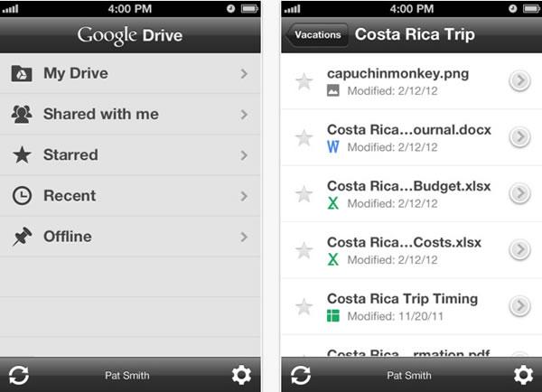 Google Drive - Tech Buzzes
