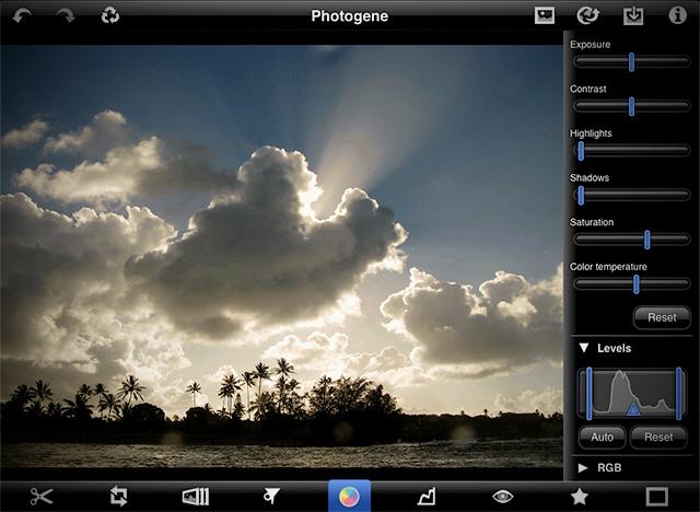 Photogene,Photogene iPad,Photogene Photo-Editing, photo-editing Apps,techbuzzes