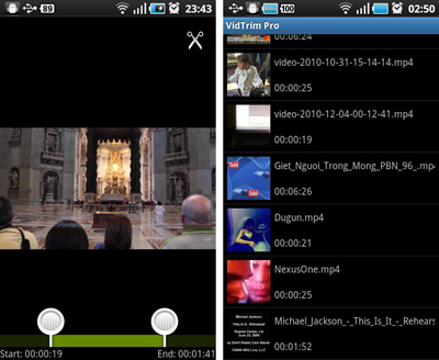 video editing apps, android apps, techbuzzes, techbuzzes.com, android device, vidtrim