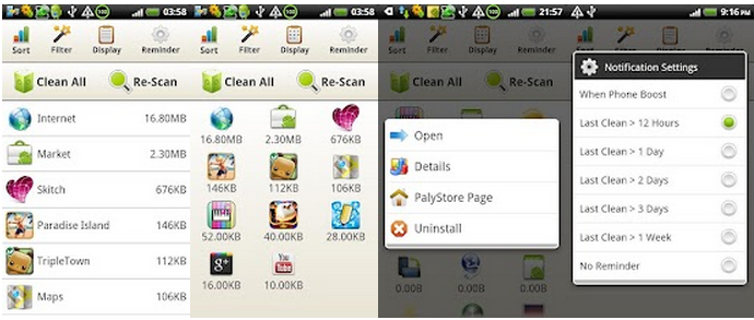 techbuzzes.com,techbuzzes, cache, apps , devices, speed up, memory cleaner, memory space