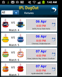ipl live, ipl live scores, techbuzzes.com,techbuzzes, ipl schedule, Indian Premier League live updates,ipl 2013, ,dugout,android, ios, iphone, ipad, windows, blackberry, windows phones, apps, ipl cricket apps
