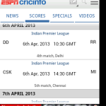 ipl live, ipl live scores, teschbuzzes.com,techbuzzes, ipl schedule, Indian Premier League live updates,ipl 2013, ,espncricinfo, android, ios, iphone, ipad, windows, blackberry, windows phones, apps, ipl cricket apps