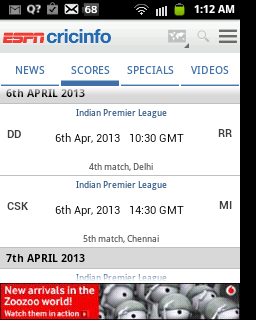 ipl live, ipl live scores, teschbuzzes.com,techbuzzes, ipl schedule, Indian Premier League live updates,ipl 2013, ,espncricinfo, android, ios, iphone, ipad, windows, blackberry, windows phones, apps, ipl cricket apps