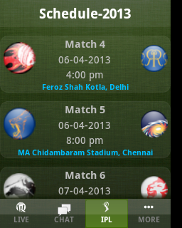 ipl live, ipl live scores, techbuzzes.com,techbuzzes, ipl schedule, Indian Premier League live updates,ipl 2013, , ipl 2013 Schedule,android, ios, iphone, ipad, windows, blackberry, windows phones, apps, ipl cricket apps