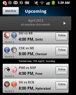 ipl live, ipl live scores, techbuzzes.com,techbuzzes, ipl schedule, Indian Premier League live updates,ipl 2013, ,yahoo cricket,android, ios, iphone, ipad, windows, blackberry, windows phones, apps, ipl cricket apps