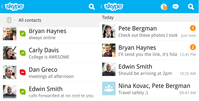 skype, blackberry, blackberry, blackberry 10, blackberry z10, blackberry q10, skype for blackberry 10, techbuzzes.com, techbuzzes, android, apps, appworld, blackberry apps, 10