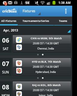 ipl live, ipl live scores, techbuzzes.com,techbuzzes, ipl schedule, Indian Premier League live updates,ipl 2013, cricbuzz,android, ios, iphone, ipad, windows, blackberry, windows phones, apps, ipl cricket apps