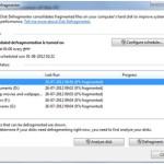 disk defragment,Windows disk defragment,Speed Up the Computer,techbuzzes