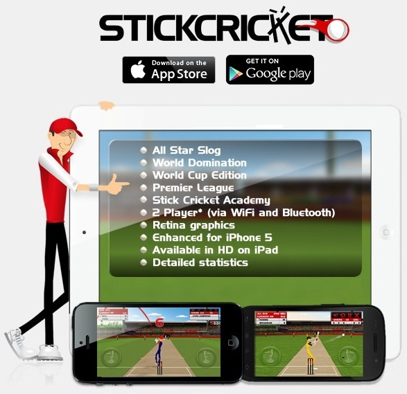 Stick Cricket,Cricket games,techbuzzes