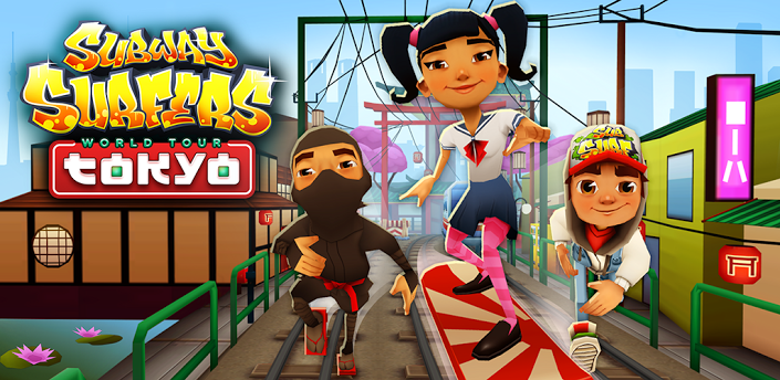 Subway Surfers Japan,Subway Surfers World Tour Japan,Subway Surfers Tokyo