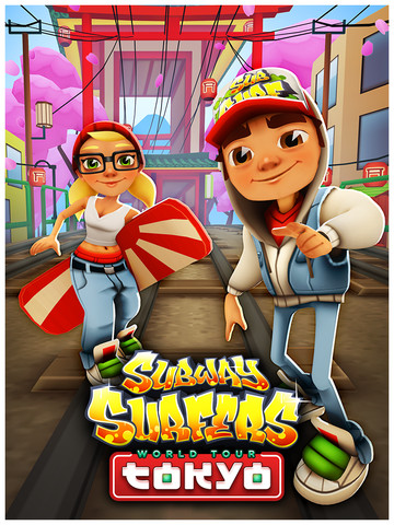 Subway Surfers,Subway Surfers World Tour to Japan,Subway Surfers World Tour to tokyo