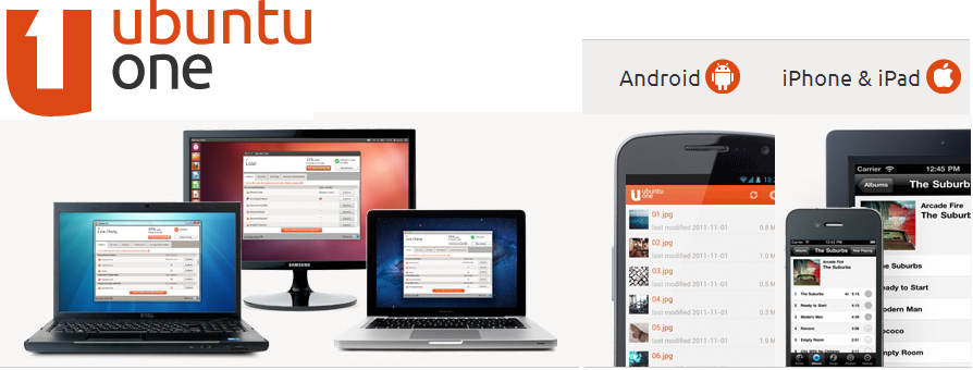Ubuntu One,Ubuntu One for android,Ubuntu One for ios,Ubuntu One for mobile,cloud storage,techbuzzes
