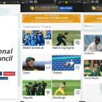 icc, champions trophy, yahoo!, yahoo! cricket, cricbuzz, espn, cricinfo,cricket champion, cricket, techbuzzes, techbuzzes, android apps, ios apps, blackberry, nokia, windows phone