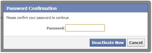 delete facebook account,Password Confirmation,facebook Password Confirmation,techbuzzes
