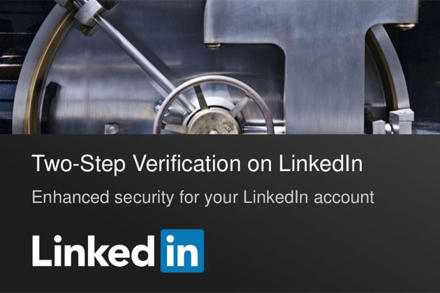 Two Step Verification, linkedIn Two Step Verification,