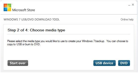 the Windows 7 USB DVD Download Tool, .ISO to USB, techbuzzes