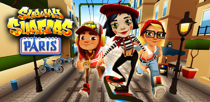 subway surfers, Paris update, subway surfers world tour paris update
