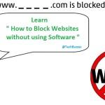 Block Websites, techbuzzes