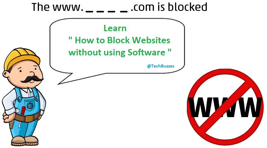 Block Websites,hosts notepad, techbuzzes