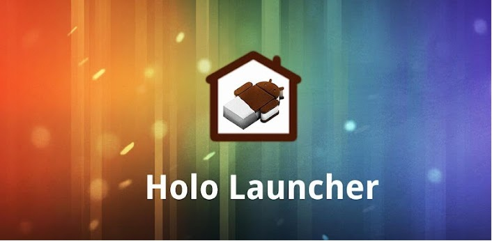 Launchers for Android, Android Launcher App, techbuzzes,  Holo Launcher, Holo Launcher for Android,