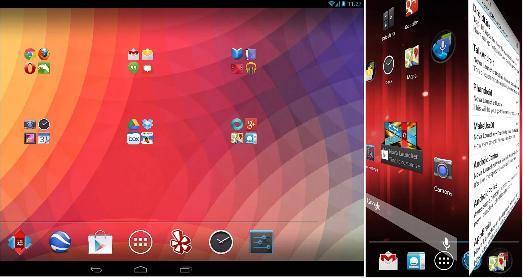 Launchers for Android, Android Launcher App, Nova Launcher, Nova Launcher for Android, techbuzzes
