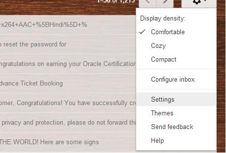 gmail, google, email, undo, recall, undo a sent mail, recall an sent mail, techbuzzes.com,techbuzes
