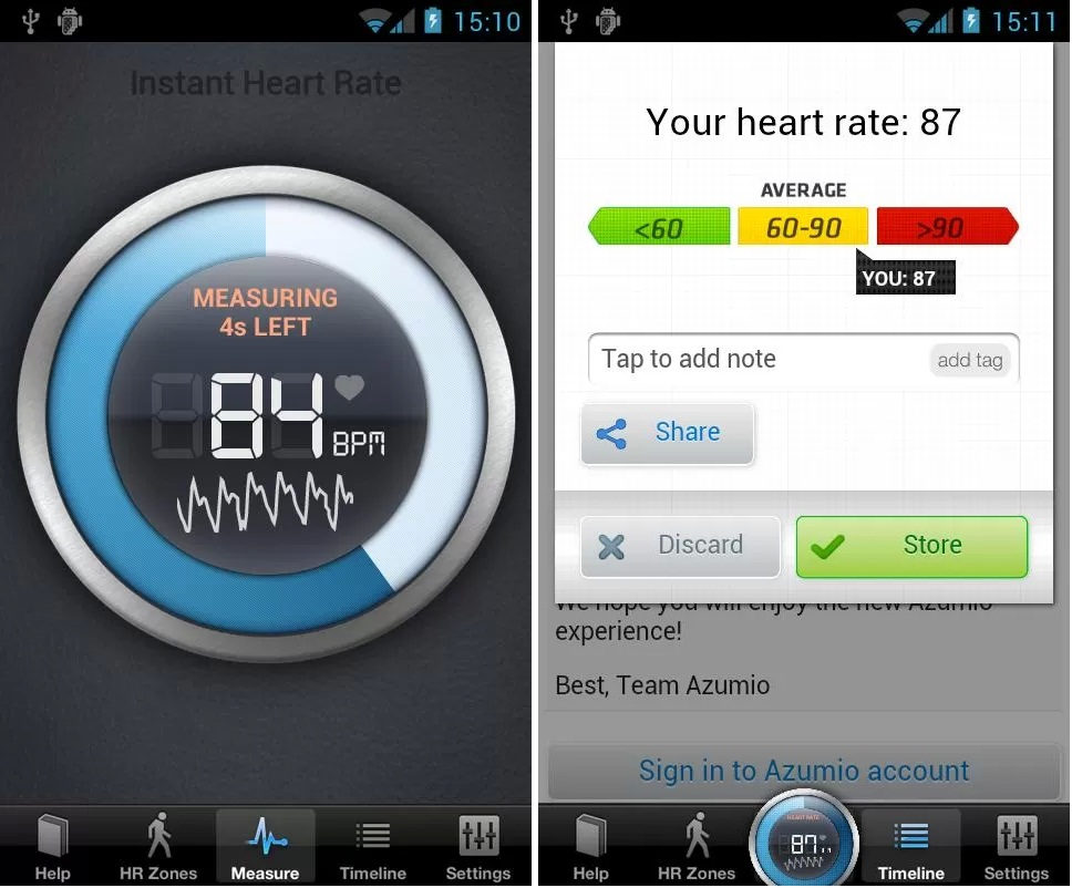 Fitness Apps for Android Phones, Instant Heart Rate, Instant Heart Rate for Android Phones, techbuzzes