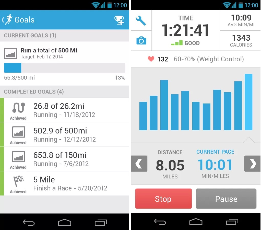 Fitness Apps for Android Phones, RunKeeper - GPS Track Run Walk RunKeeper for Android Phones, Techbuzzes