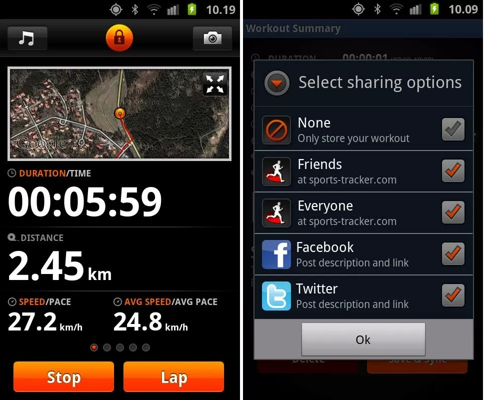 Fitness Apps for Android Phones, Sports Tracker, Sports Tracker for Android Phones, Techbuzzes