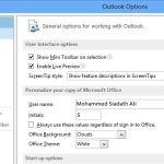 Mail Options, Outlook 2013 Mail Option, MS Outlook 2013 Mail Option,