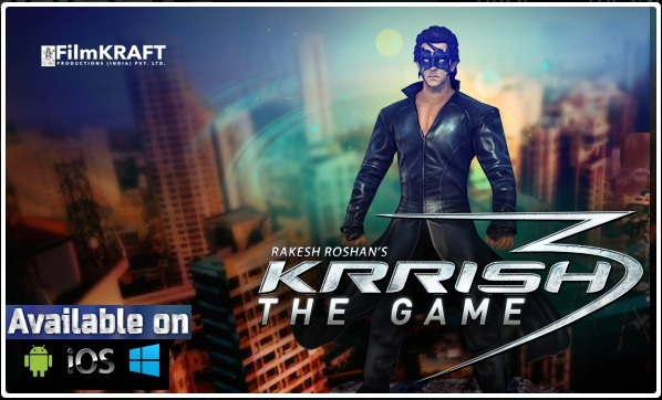 Krrish 3, Krrish 3 game, Krrish 3 game for Android, Krrish 3 for ios