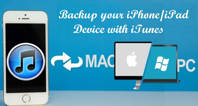 Backup your iPhone, itunes backup, techbuzzes,