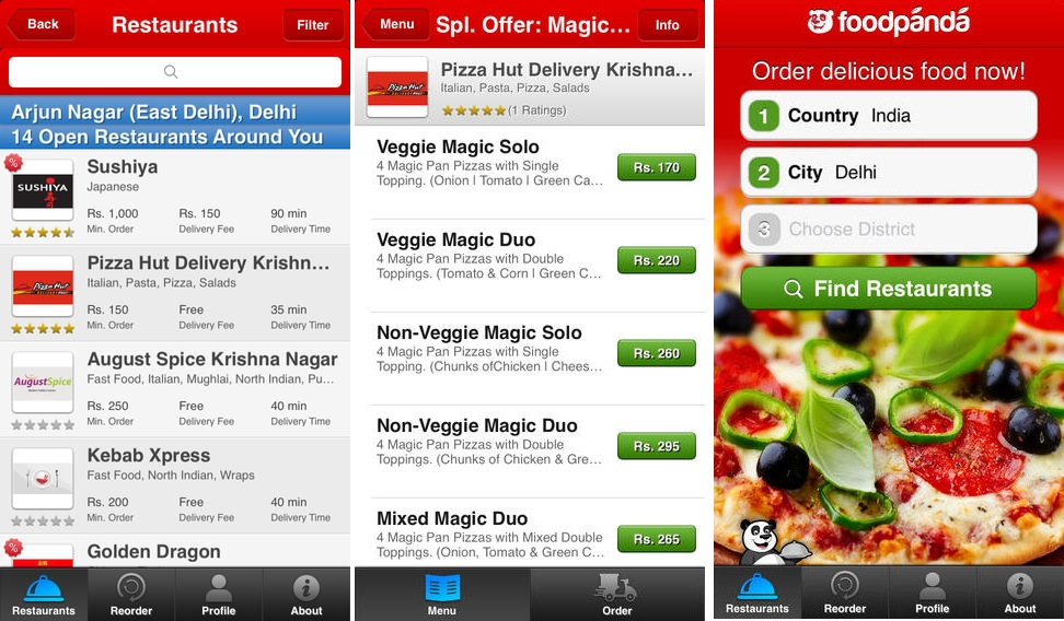 FoodPanda - Food Delivery App for Android & iOS - Tech Buzzes