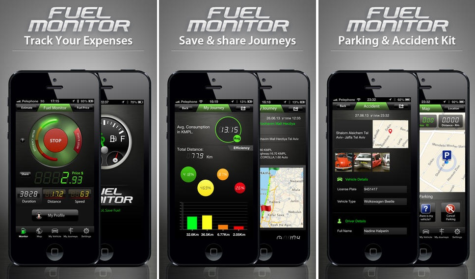 Fuel Monitor App, Fuel Monitor App iOS, Fuel Monitor App for iOS, Must Have Travel Apps, TechBuzzes