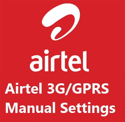 Airtel GPRS Manual Settings, Airtel Mobile GPRS Settings, Airtel Logo, TechBuzzes,