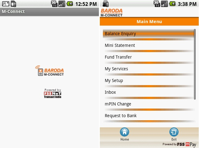 Bank Of Baroda App, Bank Of Baroda Logo, Baroda M-Connect, Baroda M-Connect App, Baroda M-Connect, MOBILE BANKING APP