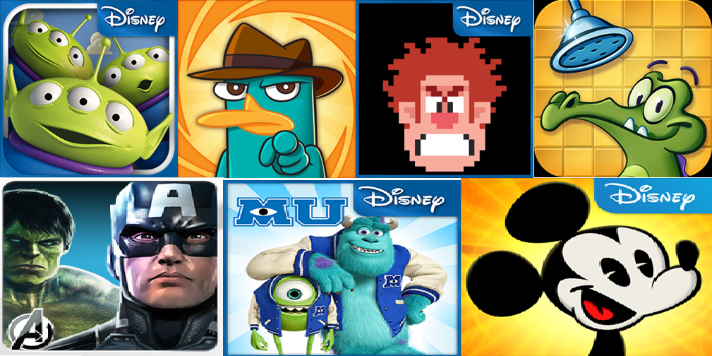 WIndows Phone, paid game for free, disney, Wreck it Ralph, Where My Water, Where's My Perry, Where's My Mickey, Avenger's Initiative, Monsters University, Toy Story, Paid games for free, windows phone store techbuzzes.com, tecbuzzes