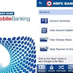 HDFC Bank MobileBanking, HDFC Bank App,