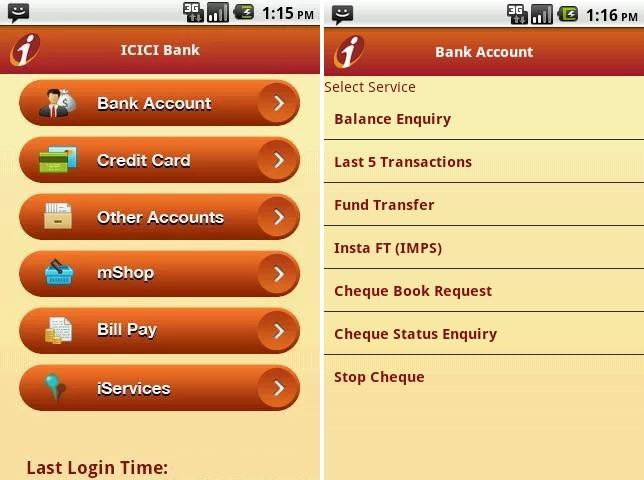 ICICI Bank, ICICI Bank App, iMobile App, iMobile , iMobile App for Android,  iMobile App for iPhone, TechBuzzes