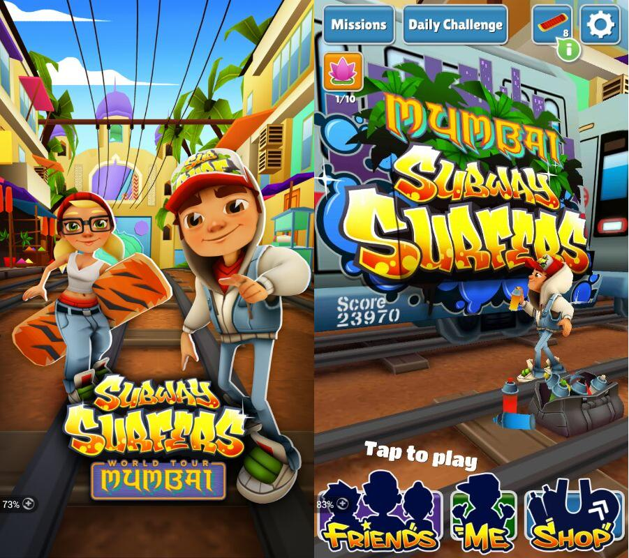 mumbai, tour mumbai, subway surfers world tour, world tour update, India, mumbia update, Mew Year, jake, techbuzzzes.com, techbuzzes, android, ios, windows phone, games, next city, next update
