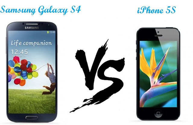 iPhone 5s v/s Galaxy S4, iPhone 5s, Galaxy S4, techbuzzes