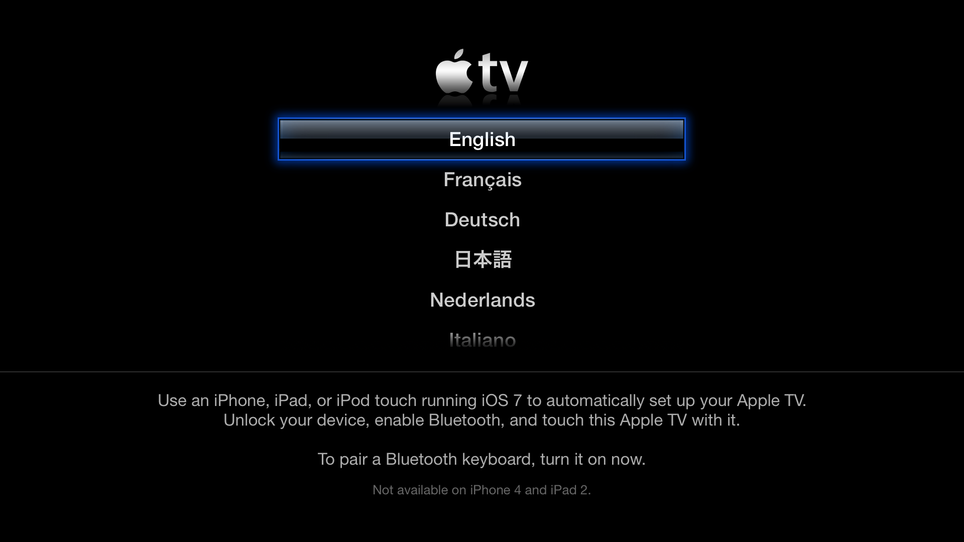 Setup your Apple TV, how to Setup your Apple TV, Apple TV,  iOS 7 Setup your Apple TV, Setup your Apple TV iOS 7