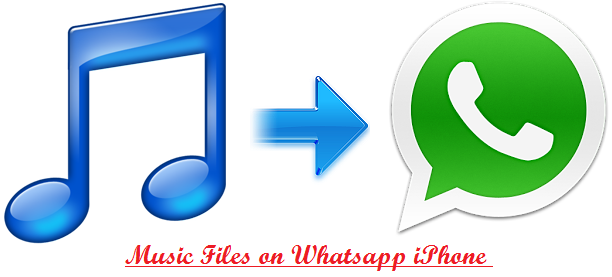 Send Music Files on Whatsapp iPhone , techbuzzes
