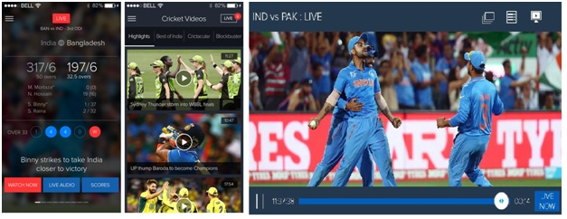 Star Sports Cricket Scores