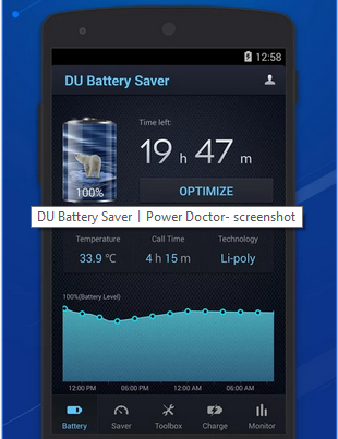 DU Battery Saver, Battery Saver Apps for Android, TechBuzzes