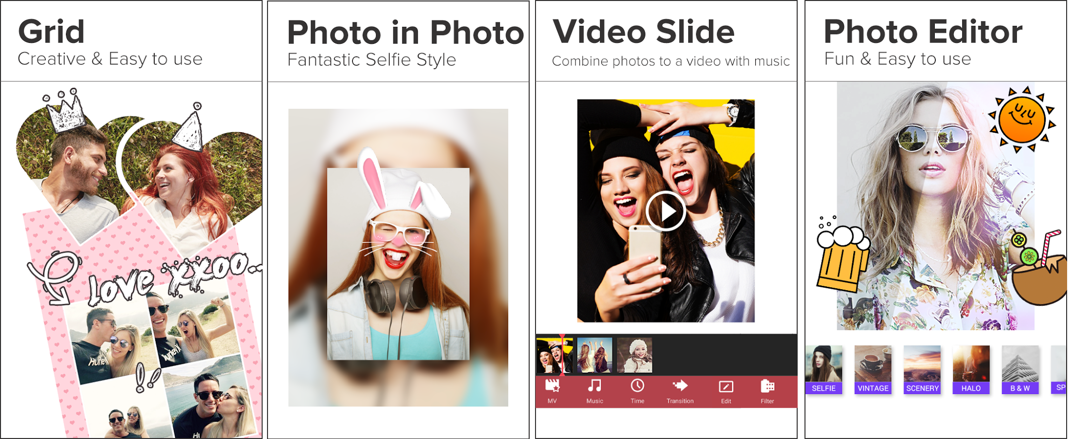 Photo Grid, Photo Grid for Android, Photo Grid for iOS, Best Photo Collage Apps for Android and iOS, techbuzzes