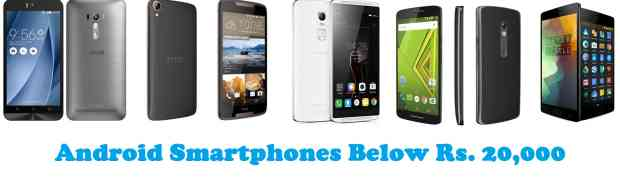 Galaxy Ratings best android phone within 20000 rupees page