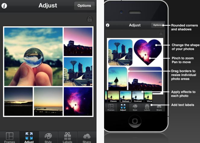 Pic Collage, Pic Collage for Android, Pic Collage for iOS, Best Photo Collage Apps for Android and iOS, techbuzzes